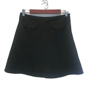 Gap skirt, black, in size 10